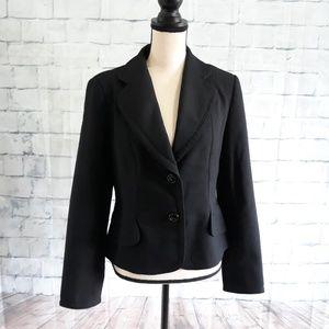 Zara Basic Women's Jacket Blazer Sz S 10 Black